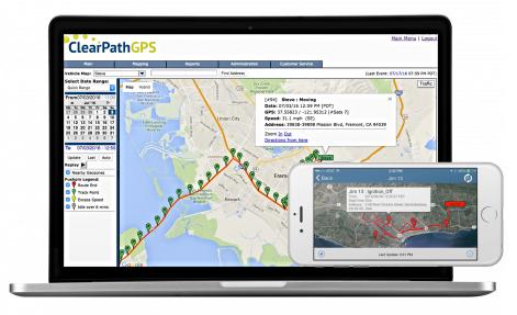 ClearPathGPS Software Application